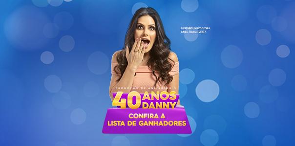Ganhadores Sorteio 40 Anos Danny Cosméticos - Blog Danny Cosméticos