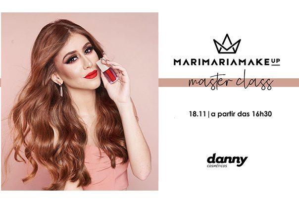 Masterclass com Mari Maria na Danny - Blog Danny Cosméticos